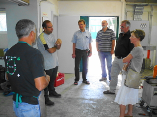 German Ambassador and EMS EVS Visit